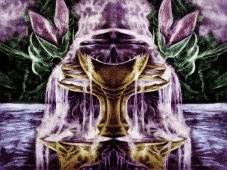 Ethernal - Reborn As Fire Inside Booklet by P. Emerson Williams