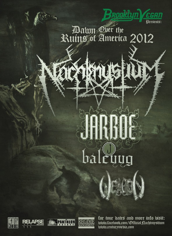 Nachtmystium, Jarboe and Weapon tour