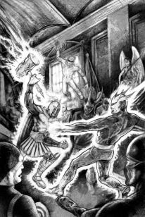 Ultra Gods Battle - Adagio Fine